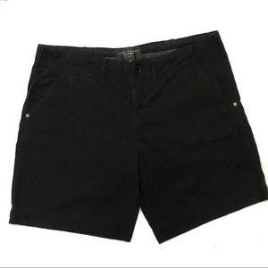 SANCTUARY Liberty Roll in Black Shorts